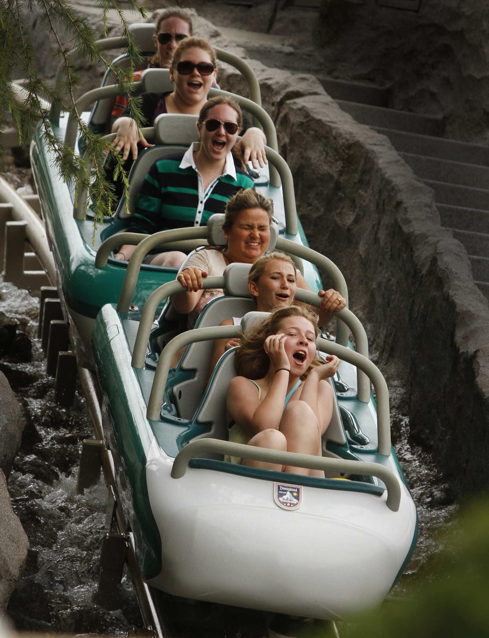 The Matterhorn reopens to the public at Disneyland after an extensive renovation June 15, 2012, in Anaheim, California.