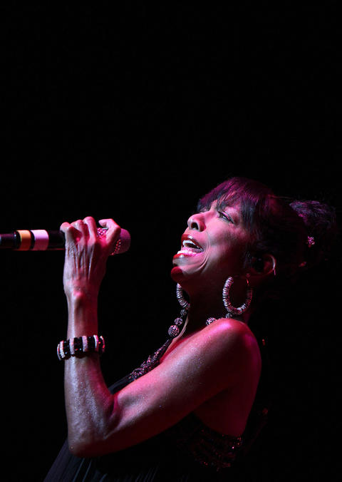Natalie Cole performs the opening night of the Hampton Jazz Festival Friday at the Hampton Coliseum. No Mags, No Sales, No Internet, No TV