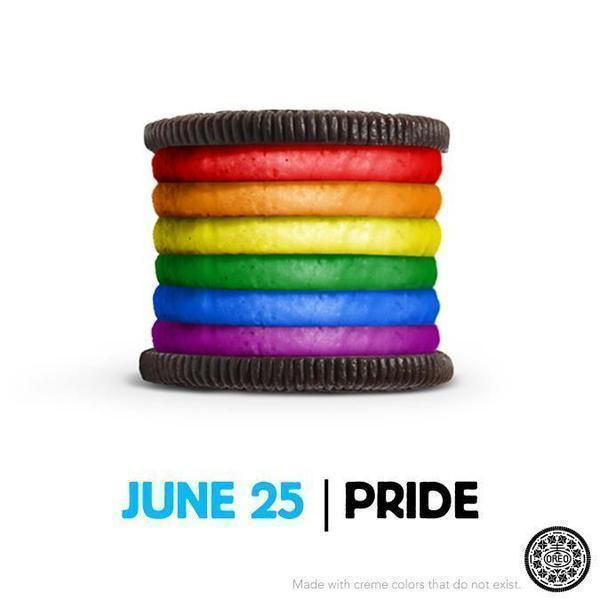 The rainbow Oreo causing a ruckus among gay rights supporters and opponents.