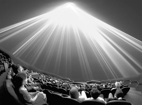 spotlight of laser light shows at orlando science center
