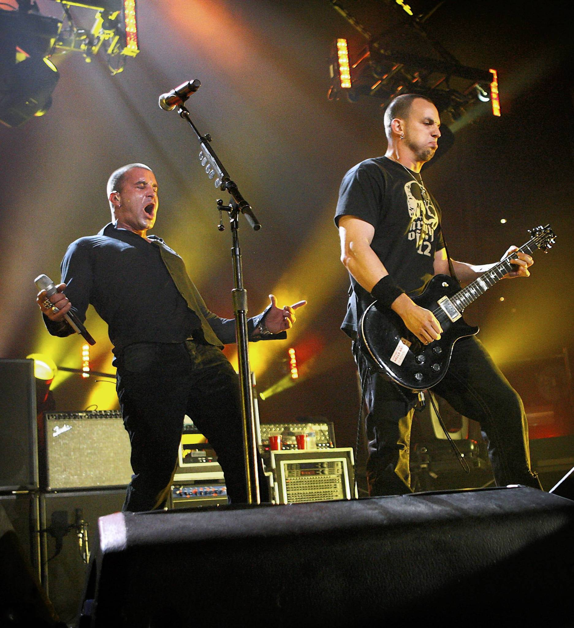 Creed performs at the Amway Arena on September, 15, 2009.