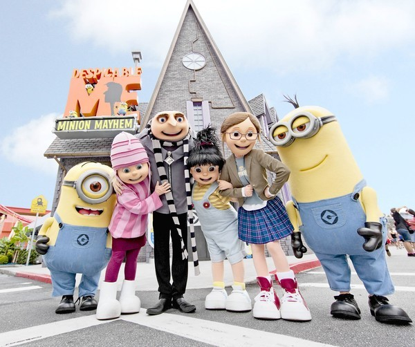 Despicable Me Minion Mayhem. (KEVIN KOLCZYNSKI, UNIVERSAL ORLANDO)