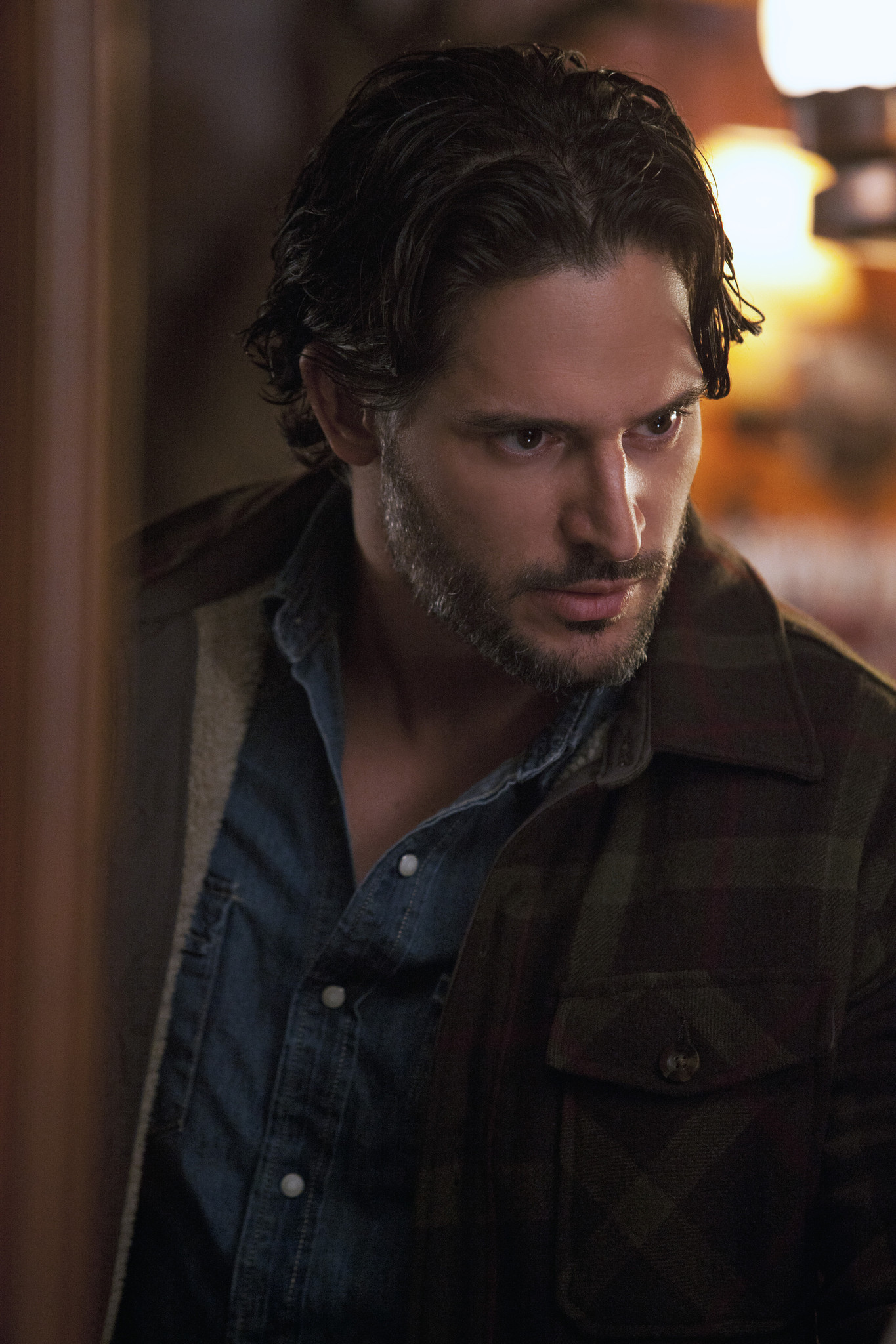 It was a very busy episode for Alcide (Joe Manganiello).