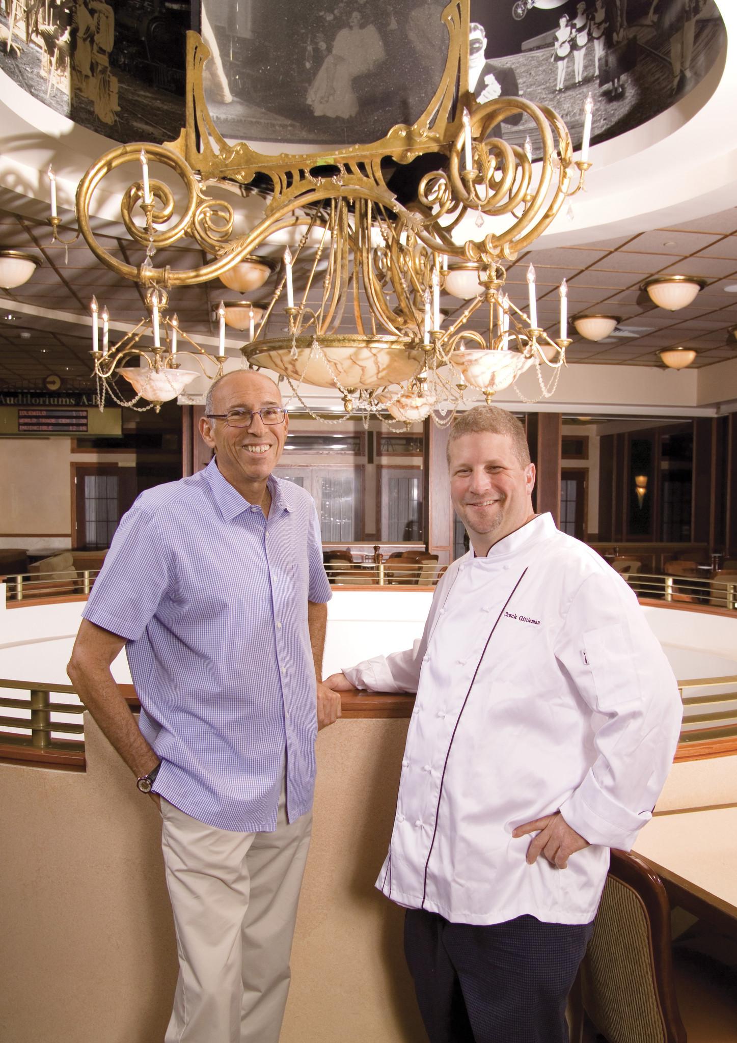 Burt Rapoport and Chuck Gittleman