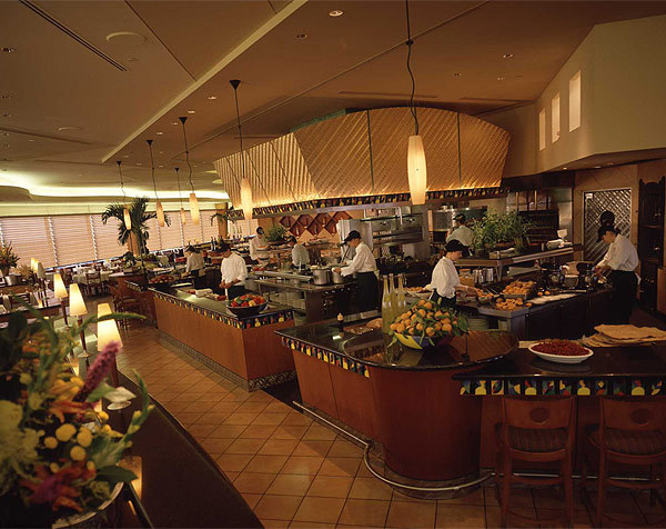 The high-end California Grill restaurant is in the Contemporary Resort at Walt Disney World.