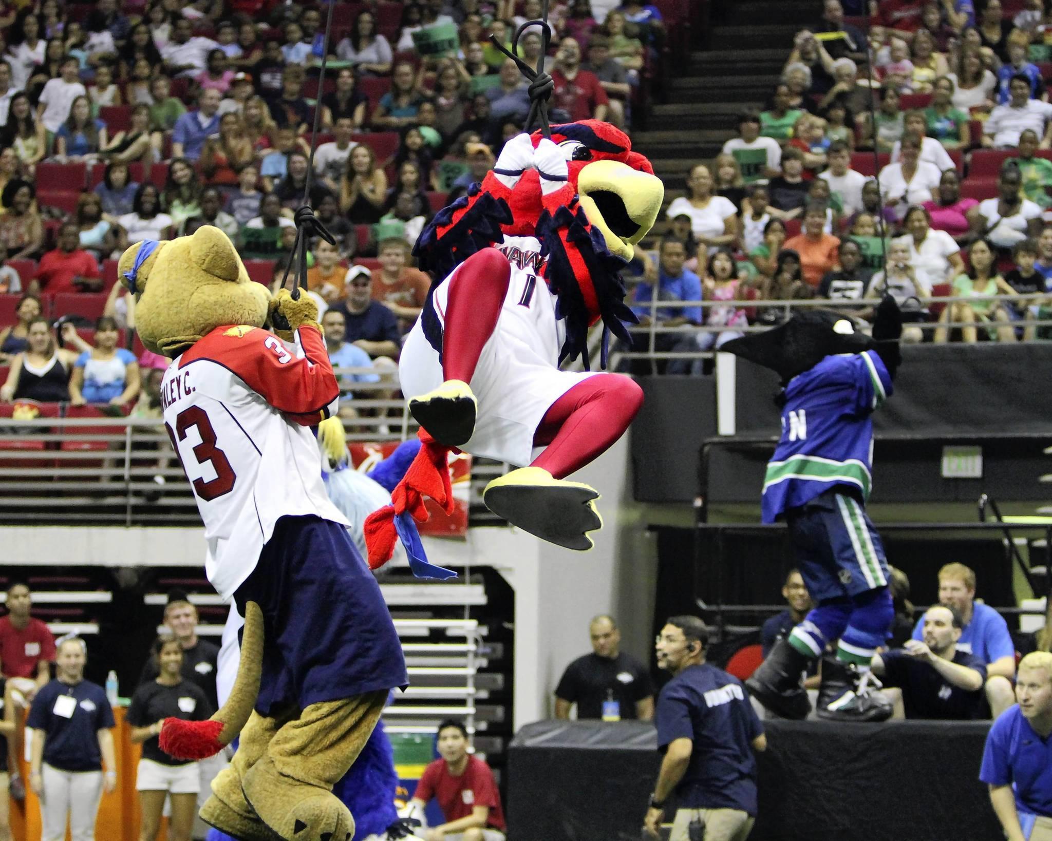Celebrity Mascot Games At Amway Arena - Orlando, Florida ...
