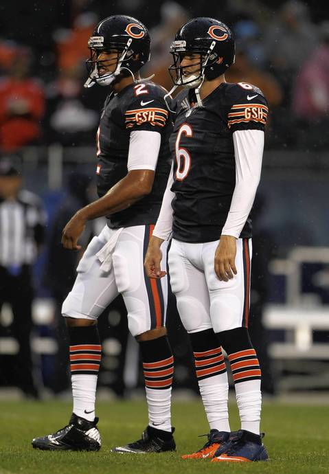 QBs Jay Cutler and Jason Campbell.