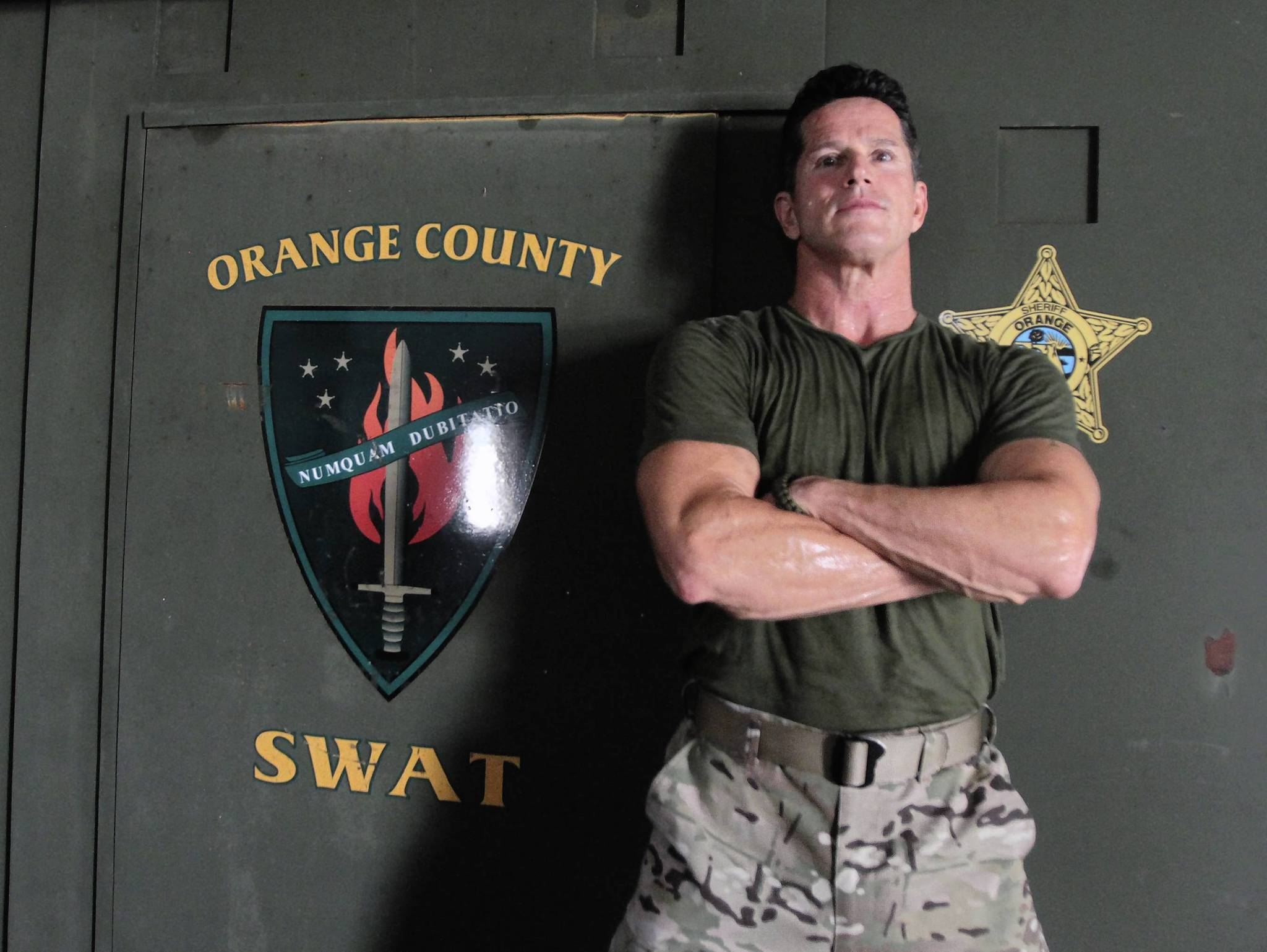 SWAT commander Tom Stroup of the Orange County Sheriff's Office is making another foray into reality TV.