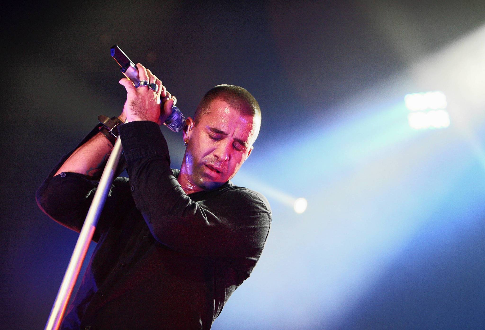 Scott Stapp is shown performing with Creed at the Amway Arena in 2009. He has a tell-all  book coming out in October.