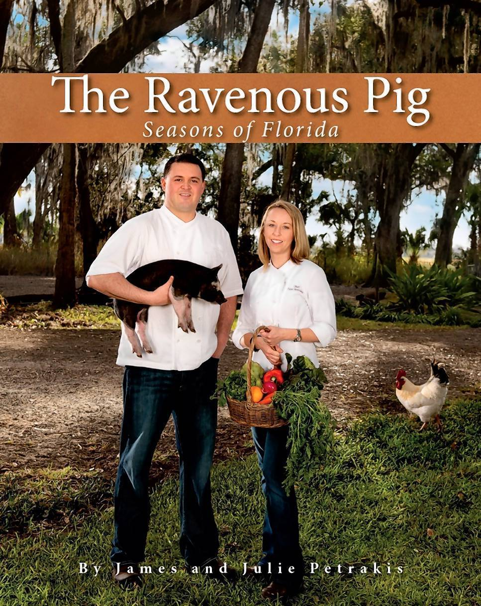"In ""The Ravenous Pig: Seasons of Florida, "" James and Julie Petrakis showcase their home state."