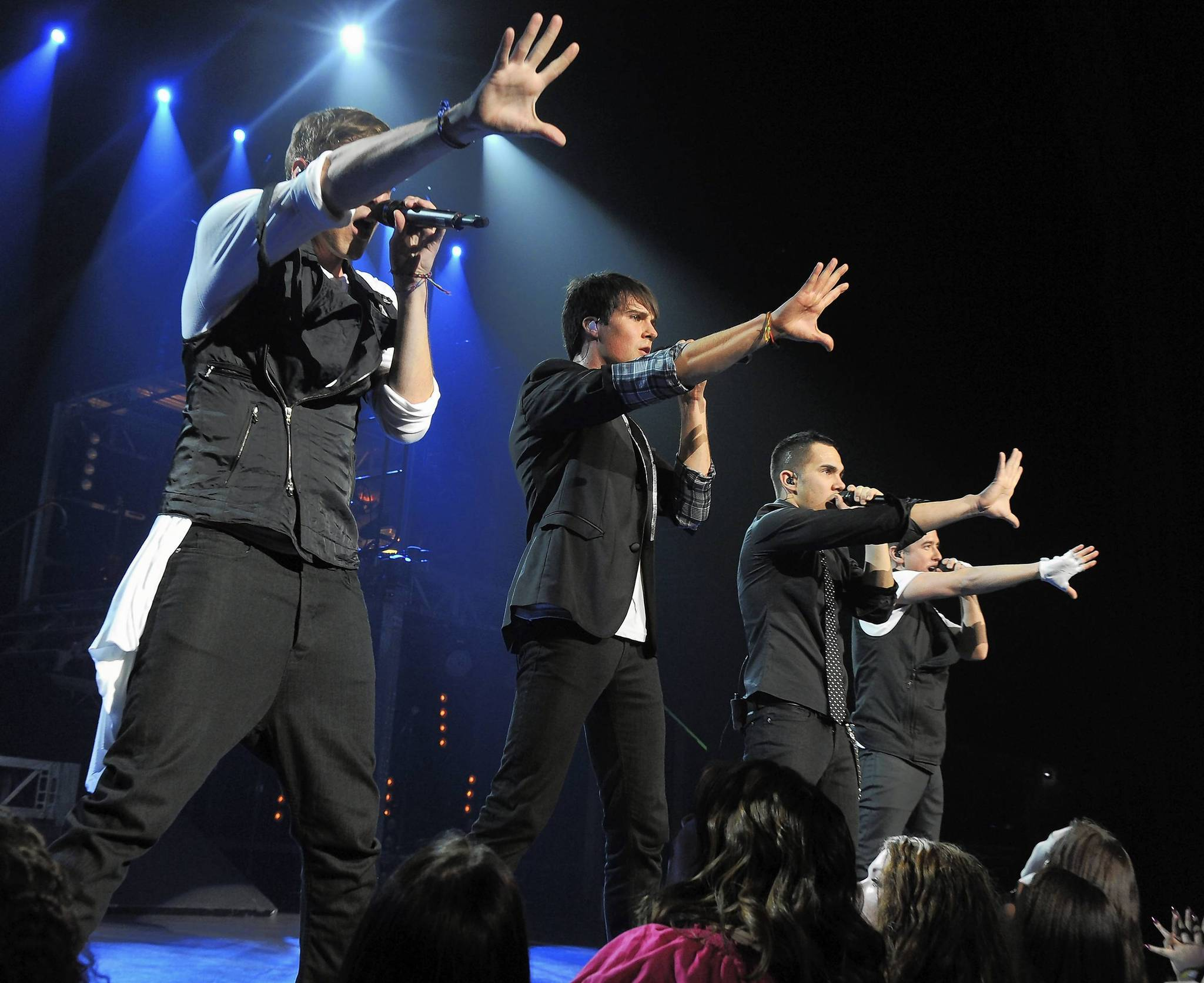 Big Time Rush (pictured at Radio City Music Hall in New York) will perform Aug. 28 at Amway Center in Orlando.
