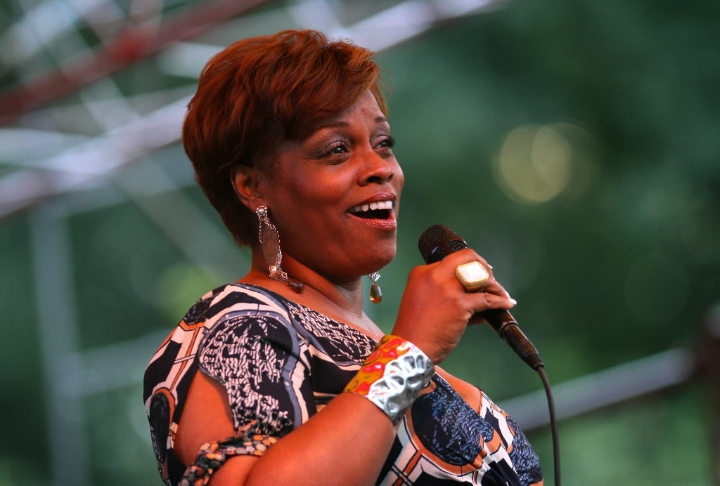 Dianne Reeves plays the Petrillo Music Shell at 8:30 p.m. on Sept. 1.
