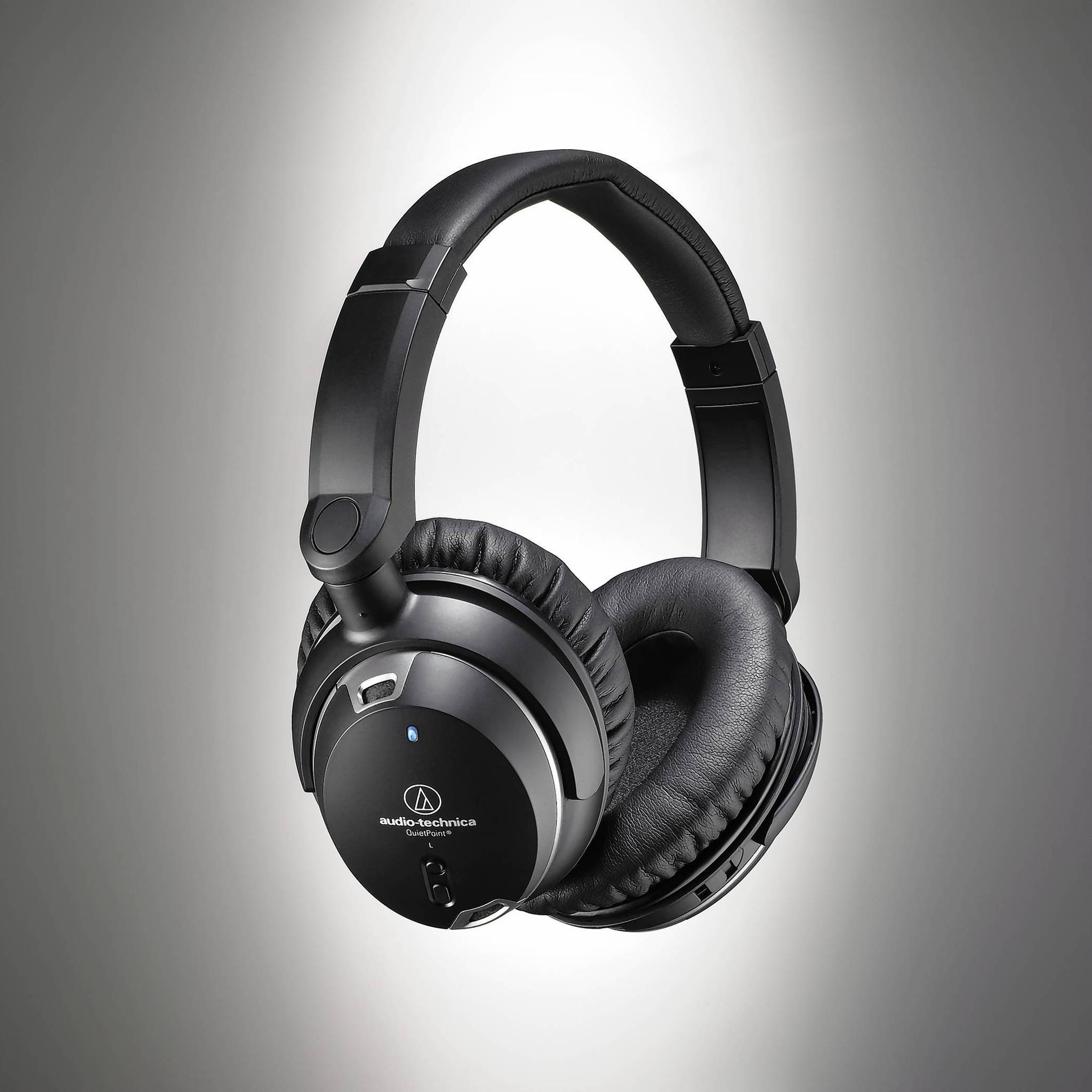 Audio-Technica ATH-ANC9 QuietPoint Noise-Cancellation Headphones