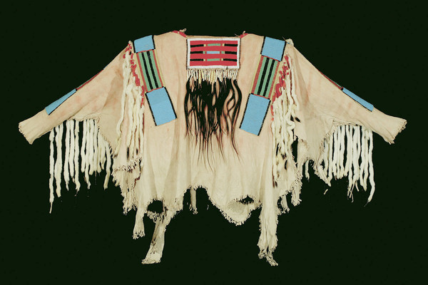 The war shirt worn by Chief Joseph of the Nez Perce tribe sold for $877,500 in a recent Coeur DAlene Art Auction.