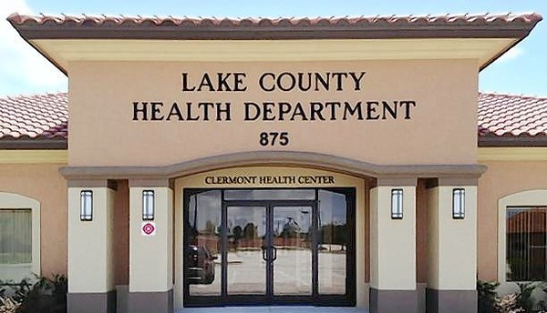 The Lake County Health Departments new Clermont Health Center at 875 Oakley Seaver Drive.
