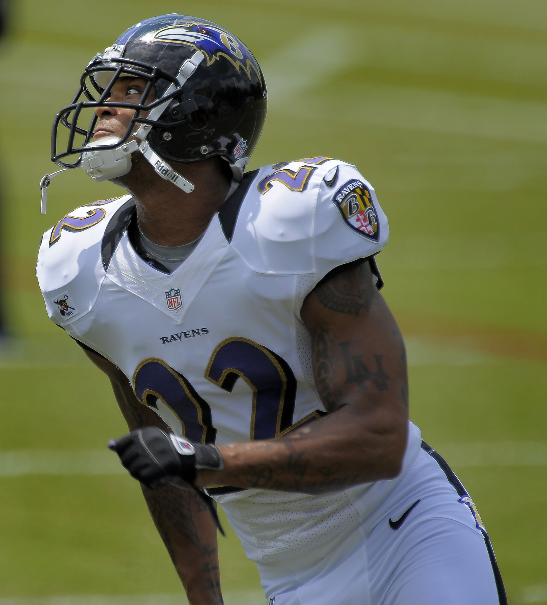 Ravens cornerback Jimmy Smith is one of the younger players expected to contribute this season.
