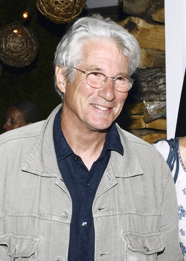 "Actor Richard Gere attends a dinner hosted by CHANEL J12 Marine celebrating the upcoming publication of ""The Wave"" by Susan Casey and benefitting the Surfrider Foundation at The Crow's Nest on August 21, 2010 in Montauk, New York."