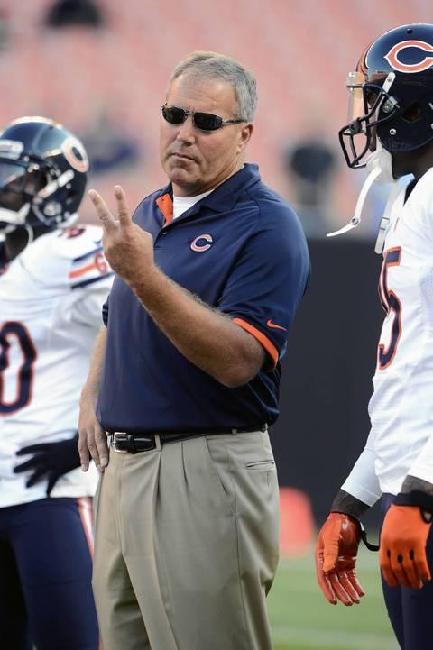 Bears special teams coordinator Dave Toub.