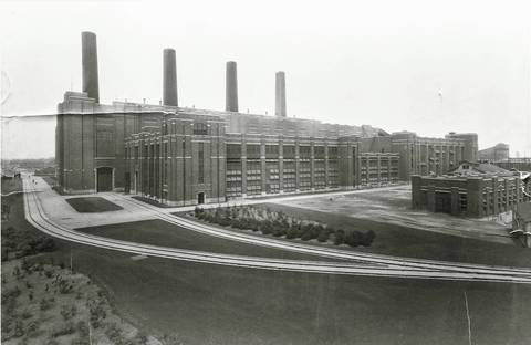 The Crawford Station in 1925.