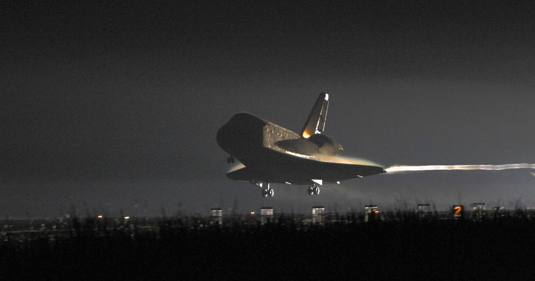 Space shuttle Endeavour's last trip to space ended with a landing at Kennedy Space Center on June 1, 2011.