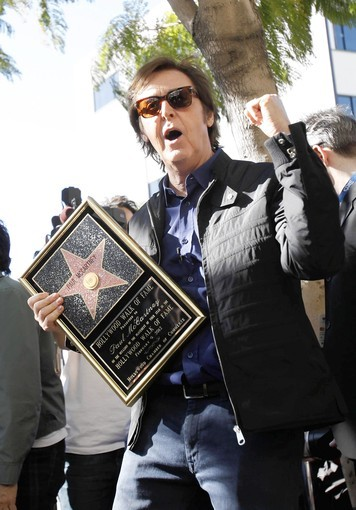 Paul McCartney has a star on Hollywood's  Walk of Fame. Will he have a restaurant on Park Avenue?
