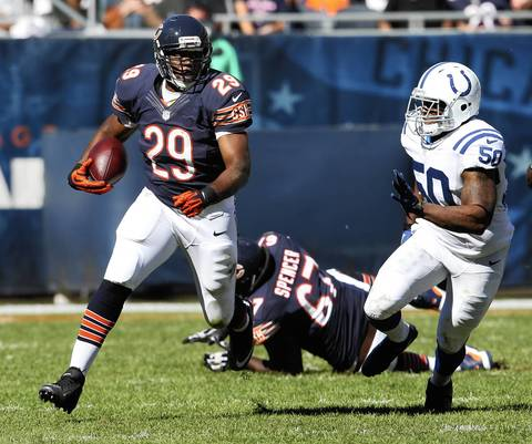 Michael Bush is pushing Matt Forte and other Cards NFL news