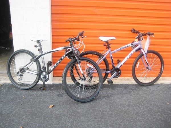 About 70 bicycls like these were stolen from stolen from a storage unit rented by the Central Florida Police Athletic League, Orlando police say.
