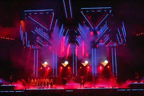 Trans-Siberian Orchestra perform during a matinee on Dec. 11, 2011, at the Amway Center in Orlando, Fl..