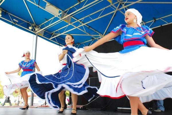 Scene from the 2011 Fiesta de Colores in Ocoee