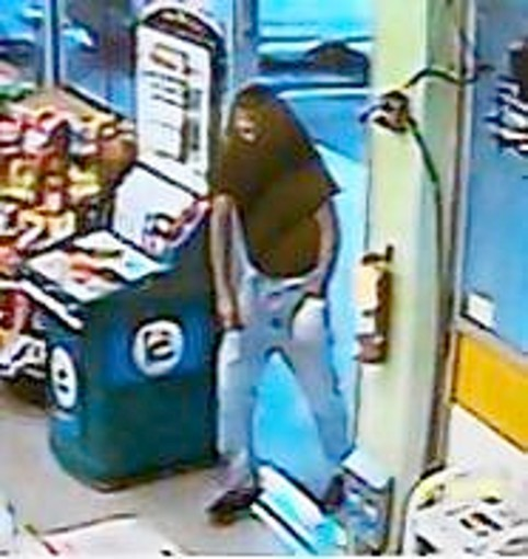 A surveillance photo of the man who attempted to rob a Port Orange Citgo.