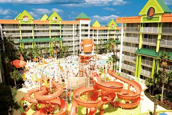 Summer was good to local hotels this year, such as the Nickelodeon Suites Resort - a family resort with two wet and wild water park.