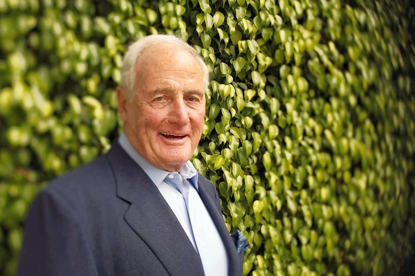 Producer Jerry Weintraub at his Beverly Hills home.