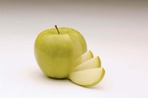The non-browning Granny Smith apple.
