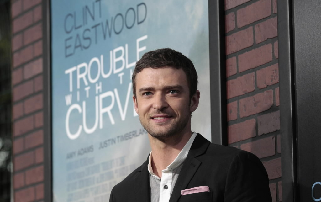 Singer/actor Justin Timberlake will host the Ryder Cup Gala Wednesday at Akoo Theatre in Rosemont.