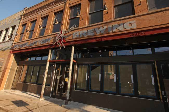 Revolution Brewing, 2323 N. Milwaukee Ave., 773-227-2739 Logan Square's only brewpub continues to pack in beer fans every night of the week, though weekends ares especially tricky when it comes to snagging a table, or even or a spot at the bar.
