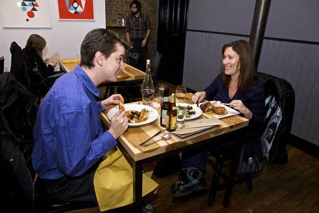 Longman & Eagle, 2657 N. Kedzie Ave., 773-276-7110 Want a taste of chef Jared Wentworth's seasonal American cooking? Get in line -- or rather, put your name on the list, head to a nearby bar and await a call from the host when it's your turn to chow down.