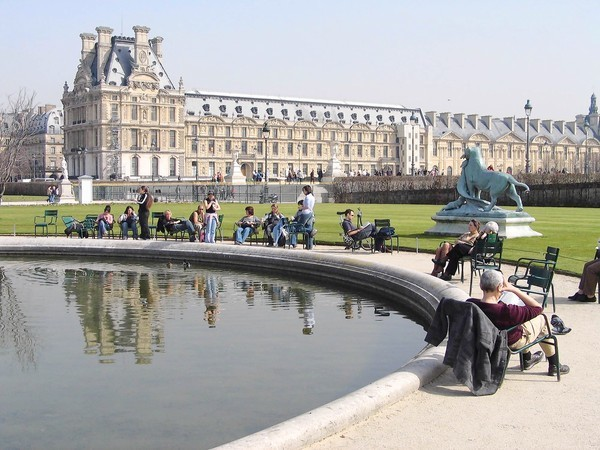The Louvre is one of the world's largest museums.