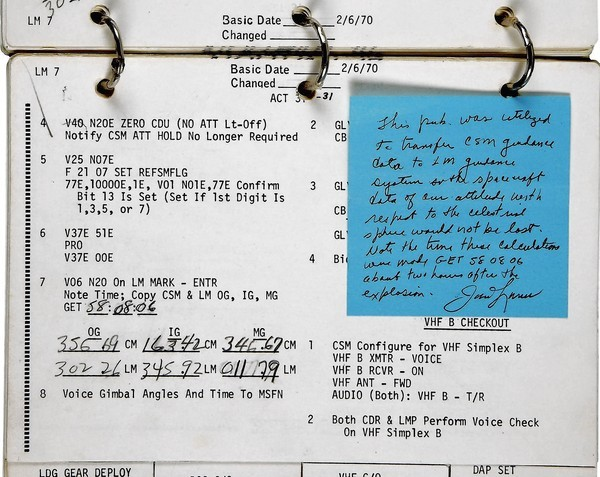 NASA challenged the auction of this piece of space program history -- an Apollo 13 checklist -- contending that it should be in a museum rather than sold to private collectors.