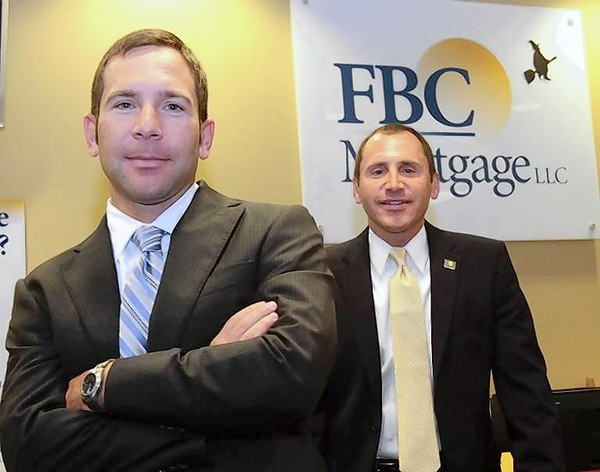 Rob (left) & Joe (right) Nunziata of FBC Mortgage in Orlando.
