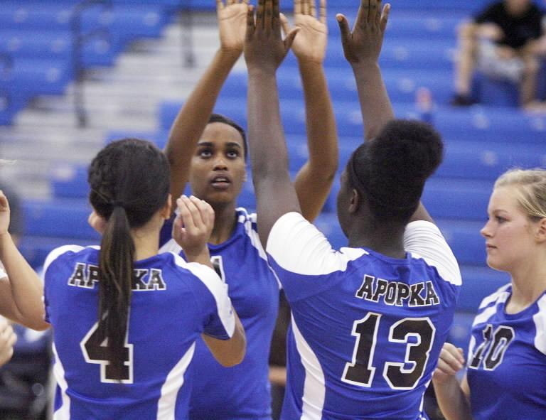 Apopka topped Olympia 3-1 on Tuesday. (Stephen M. Dowell/Orlando Sentinel)