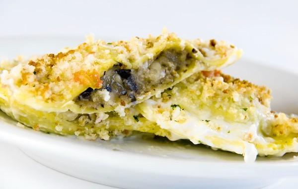 Brio Tuscan Grille's Mushroom Ravioli is sauteed in brown butter.