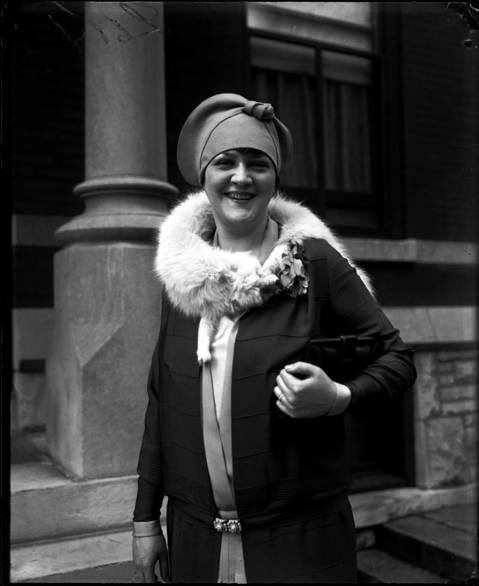 Cyrena Van Gordon, August 11, 1927.