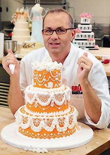Jay Qualls of TLCs Cake Boss: Next Great Baker.