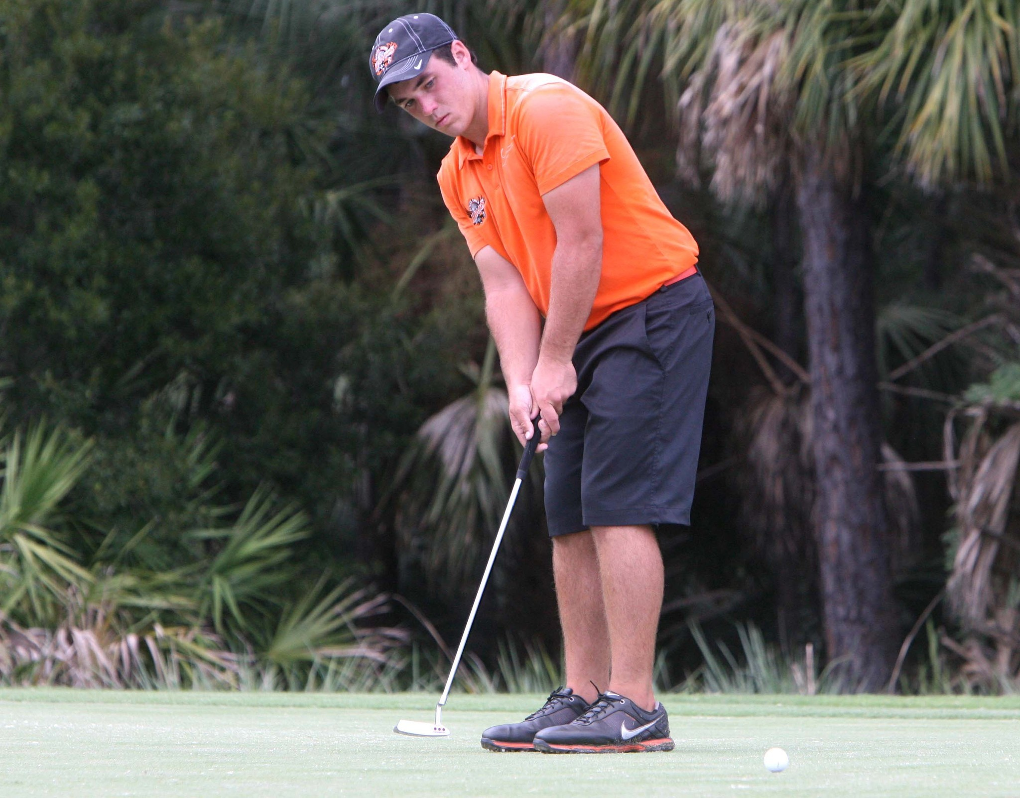Spruce Creek's Ethan Wagner helped the Hawks win the team title Wednesday at the Super Six golf tournament.