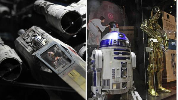 Orlando Science Center hosts a new exhibit, 'Star Wars: Where Science Meets Imagination' through April 7, 2013.