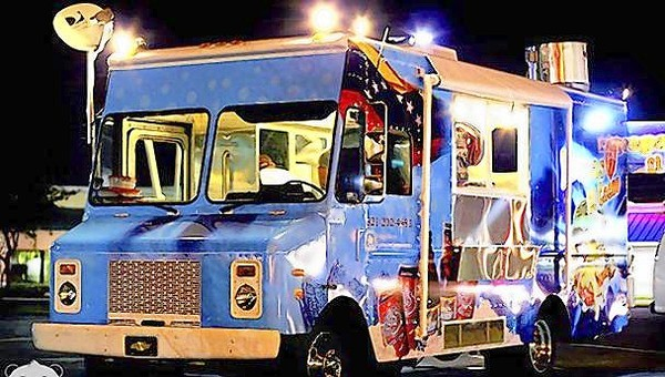 Follow the Arepas El Cacao food truck on Facebook.