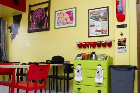 Inside Jackalope Coffee & Tea House -- Chicago Tribune