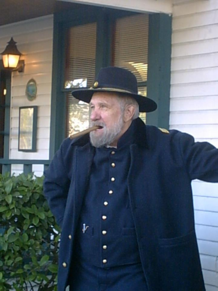 Country Joe Rosier as Gen. Ulysses S. Grant.