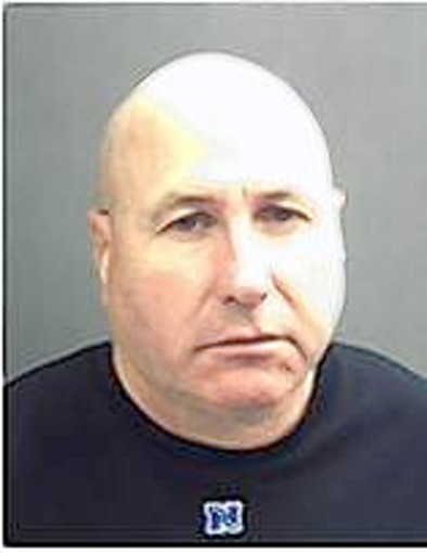 Jeffrey Steven Hawkins, 49, was arrested Tuesday, accused of credit card fraud at a Disney World hotel.