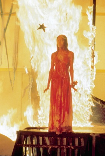 "Sissy Spacek in ""Carrie."""